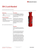 EW-2 Lock Mandrel Technical Data Sheet