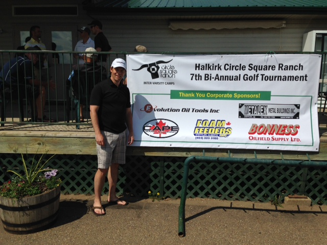 Evolution Sponsors Halkirk Circle Square Ranch Golf Tournament
