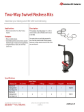Two-Way Swivel Redress Kit