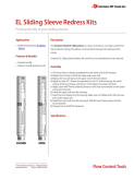 EL Sliding Sleeve Redress Kit